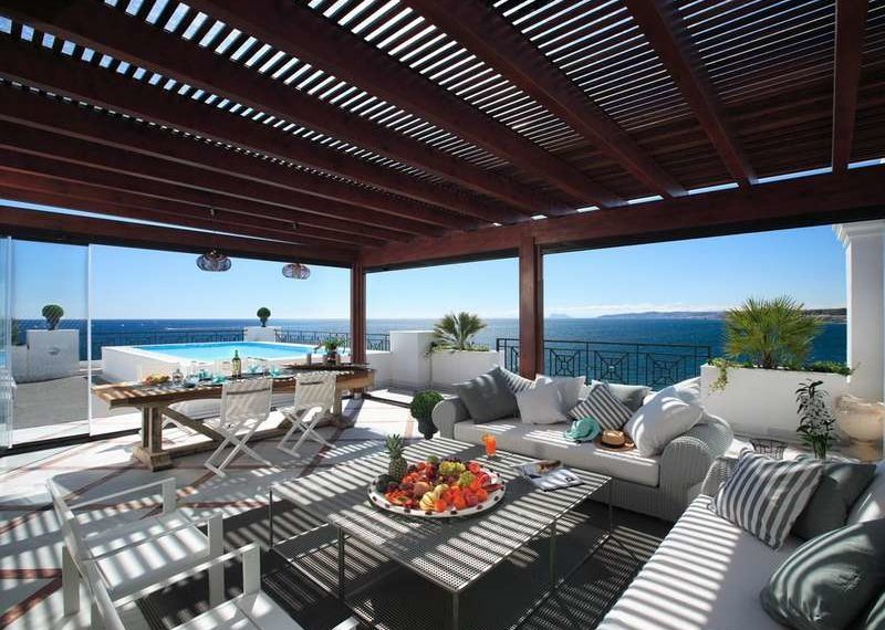 Penthouse luxe Estepona Marbella Immobilier Marbella Terasse