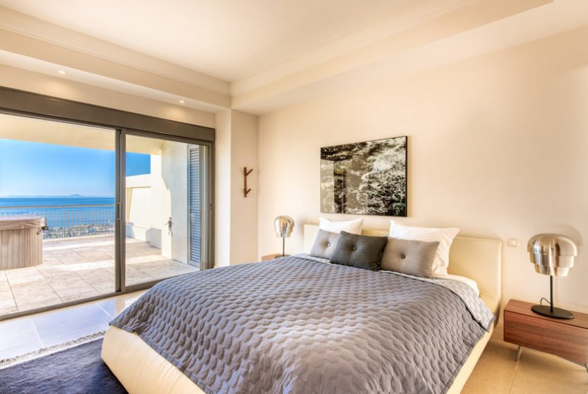 penthouse luxe vue sur mer immobilier marbella chambre 1