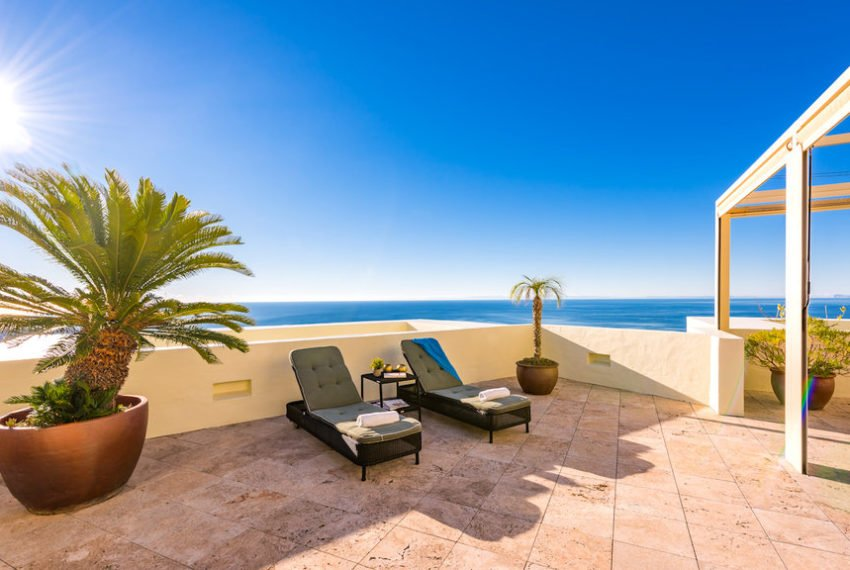 penthouse luxe vue sur mer immobilier marbella