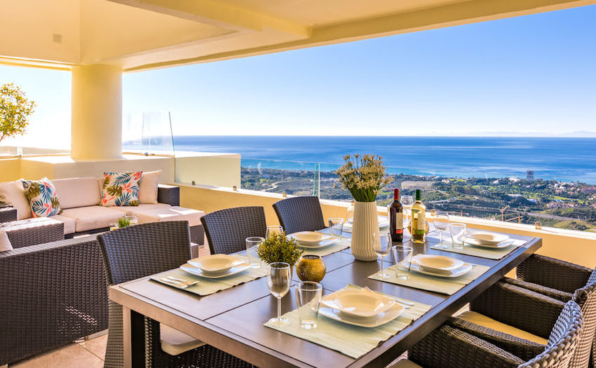 penthouse luxe vue sur mer immobilier marbella terasse 3