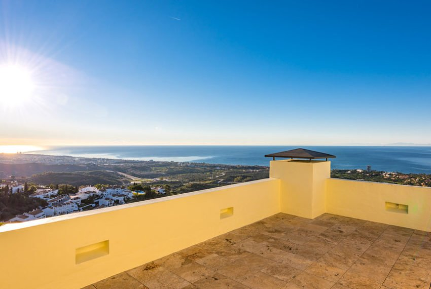 penthouse luxe vue sur mer immobilier marbella terasse 4