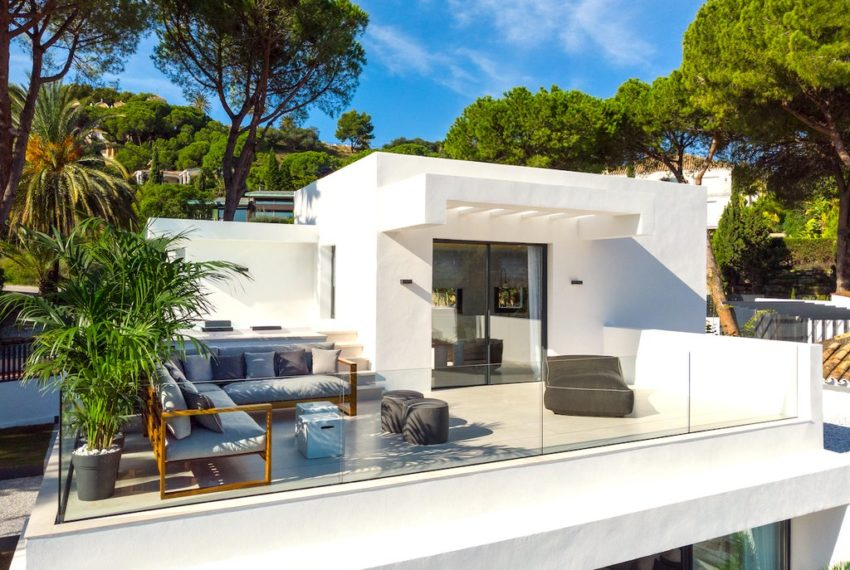 villa luxe moderne 5 chambre nueva andalucia immobilier marbella extrieur