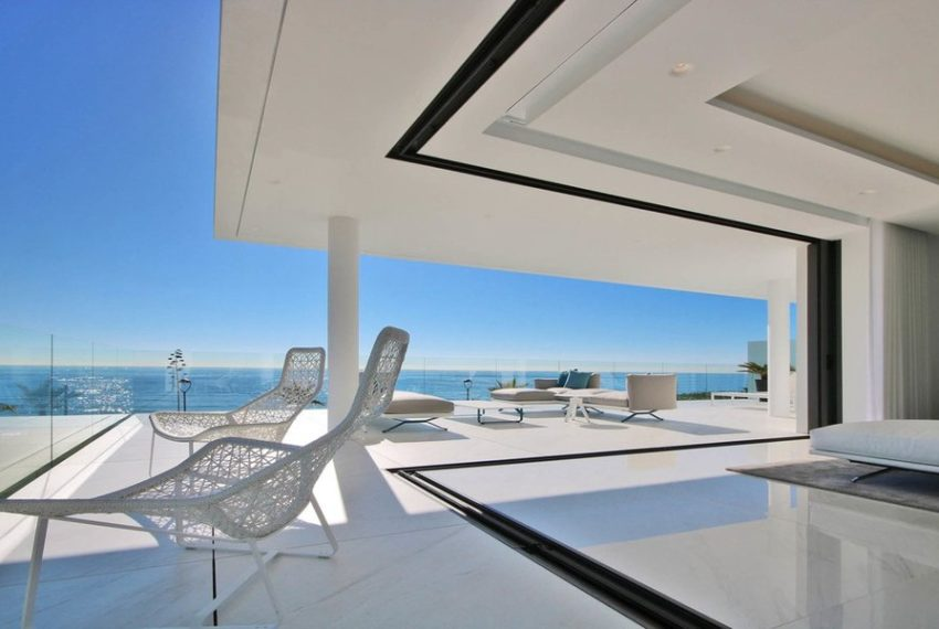appartement 5 chambre vue sur mer golden mile immobilier marbella terasse 1