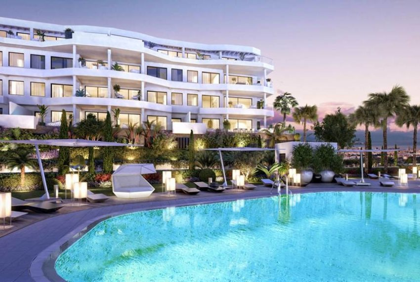 penthouse luxe 3 chambre a mijas costa marbella immobilier marbella exterieur