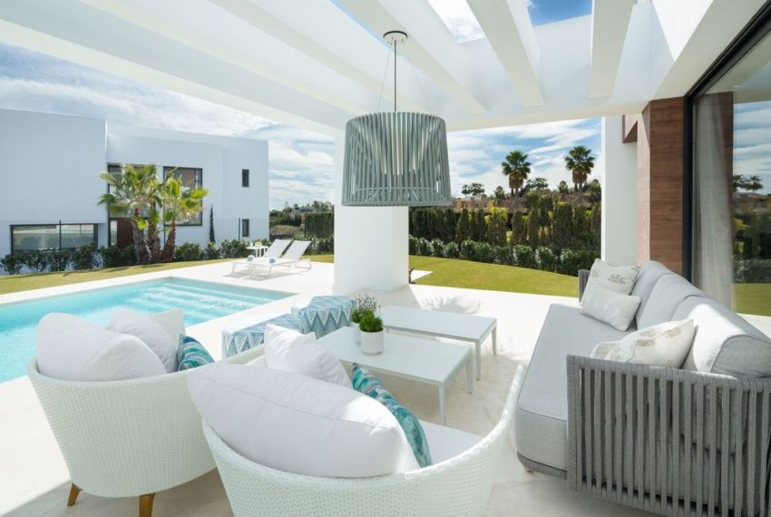 villa luxe 4 chambres immobilier marbella exterieur 1