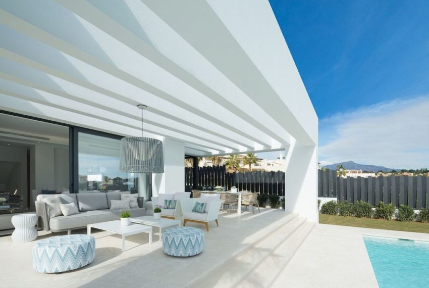 villa luxe 4 chambres immobilier marbella exterieur